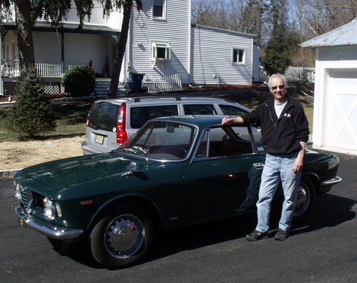 March 9, 2013: The Alfa Romeo GT 1300 Jr. arrives in my driveway.