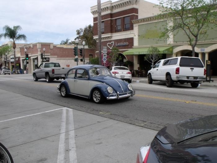 '60s era VW Beetle in Ventura CA