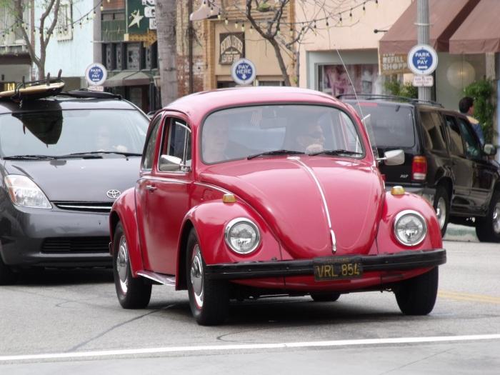 '70s era VW Beetle in Ventura CA