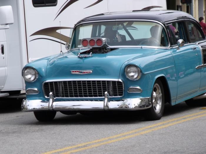 1955 Chevy hot rod in Ventura CA