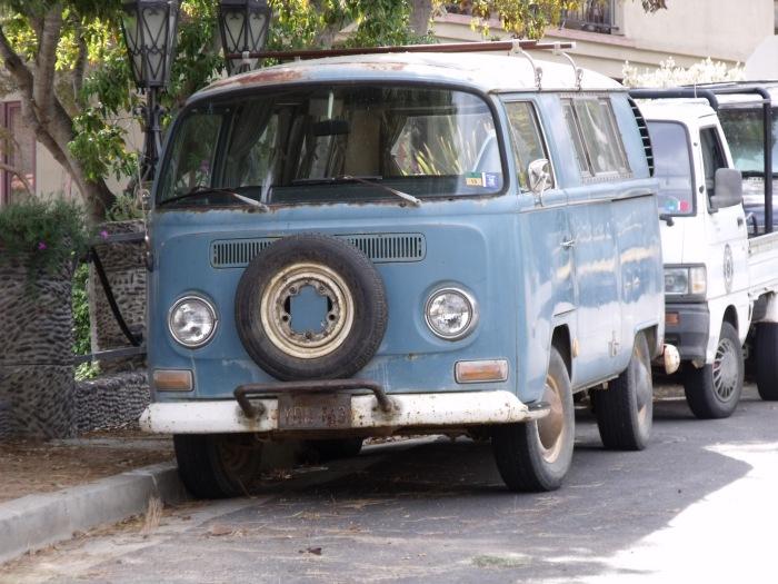 VW Transporter on Catalina Island CA