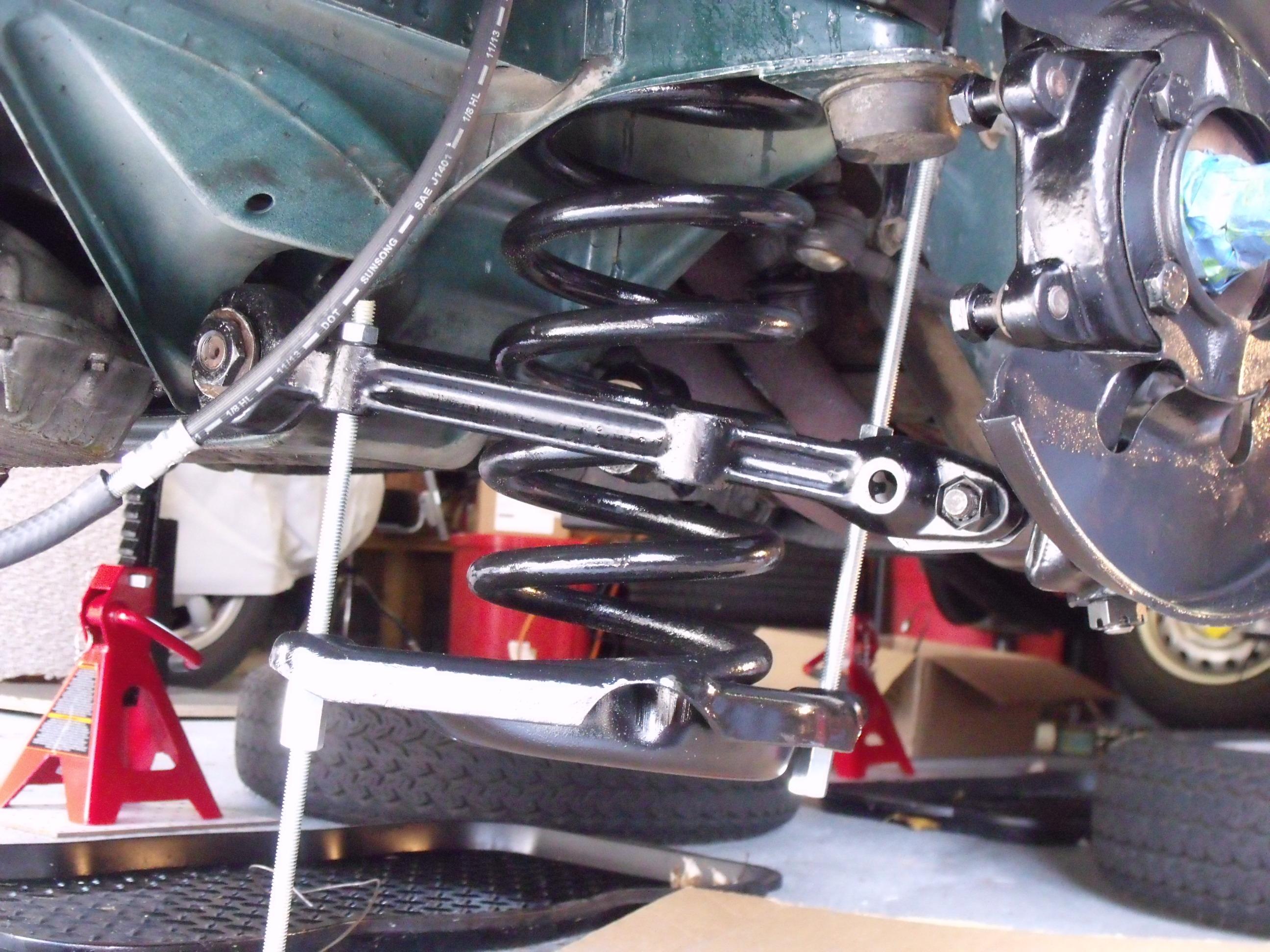 Alfa Romeo Front Suspension Rebuild Part 2 Richardscarblog