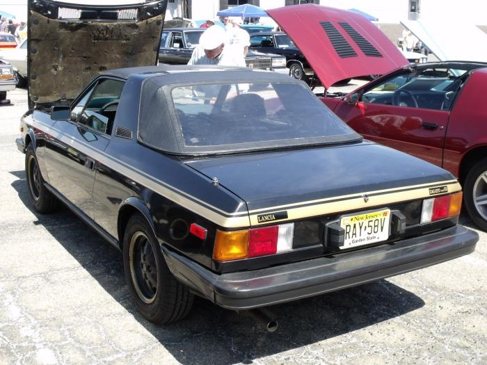 A Lancia Beta Zagato.