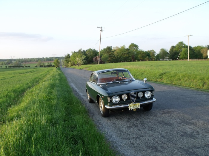 The Alfa on Higginsville Rd. in Neshanic Station. We don't see a lot of traffic 'round these parts.