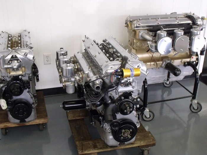 A few spare XK engines