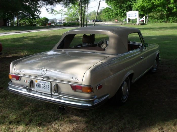 Mercedes Benz 250SE convertible