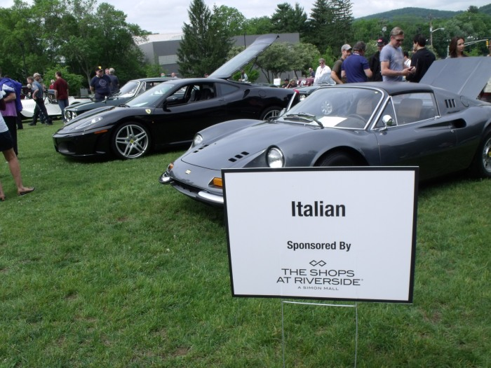 Yes, there were cars other than Ferraris in the Italian class.