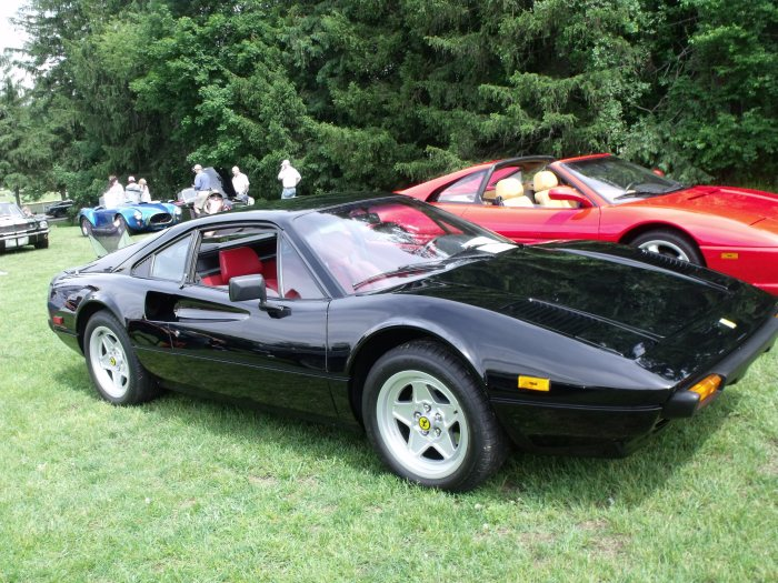 Third place: a former barn find '79 Ferrari 308 GTB.