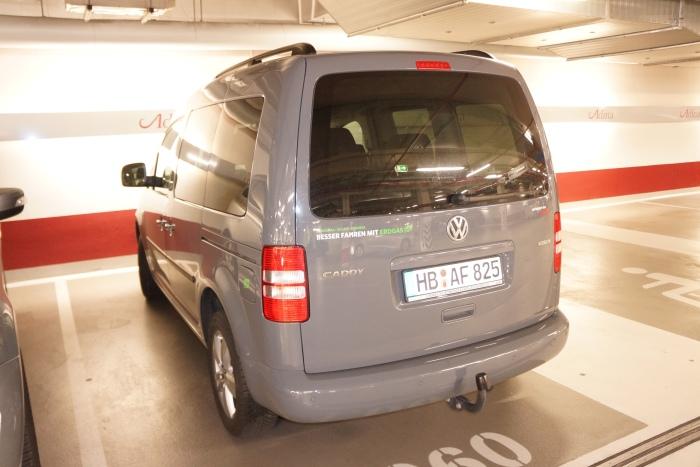 A VW Caddy (van)