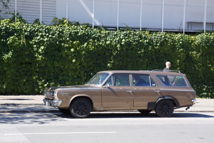 '60s Rambler American station wagon