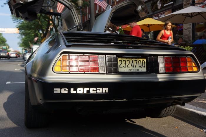 The DeLorean DMC-12