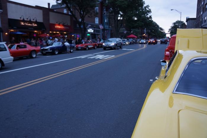 Main St., Somerville NJ, on a hot summer night.