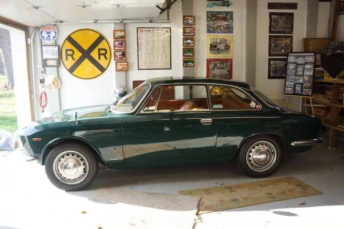 The 1967 Alfa before the slumber