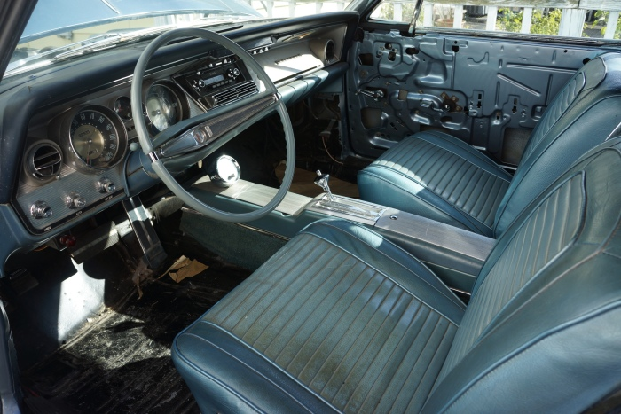 Interior is final step to be tackled; John has all the parts