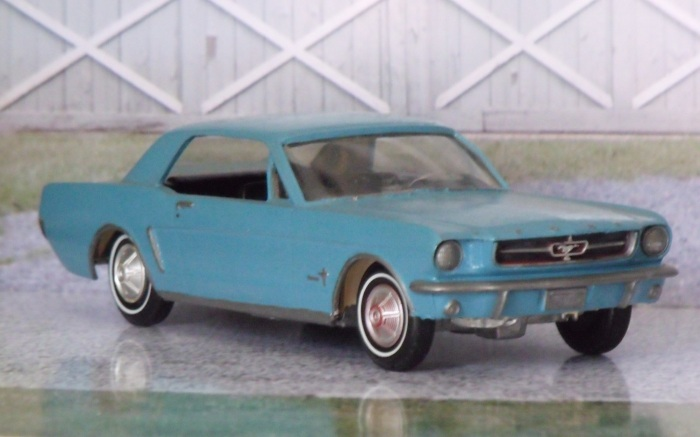 1964 1/2 Ford Mustang promo model (hand painted)