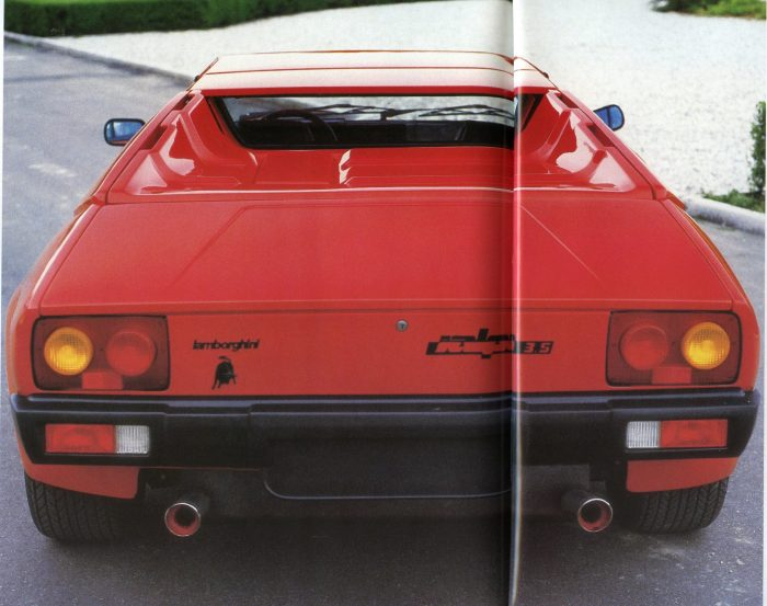 The Lamborghini Jalpa. From the author's collection.
