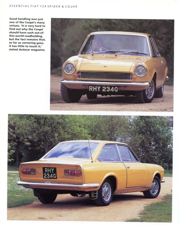 "The first generation ""AC"" 124 Coupe is considered the best-looking by many"