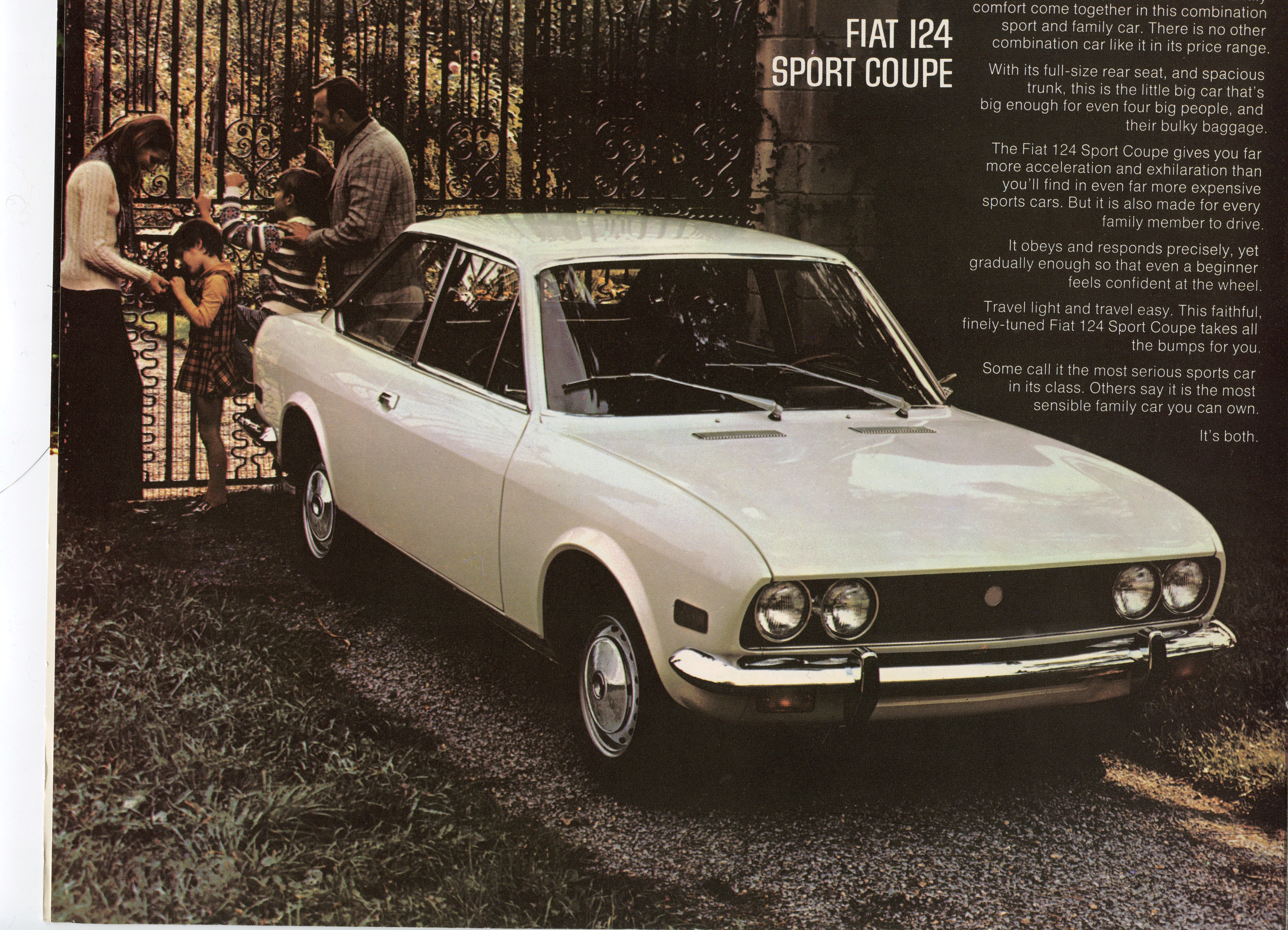 The Fiat 124 Sport Coupe An Abbreviated History Richardscarblog