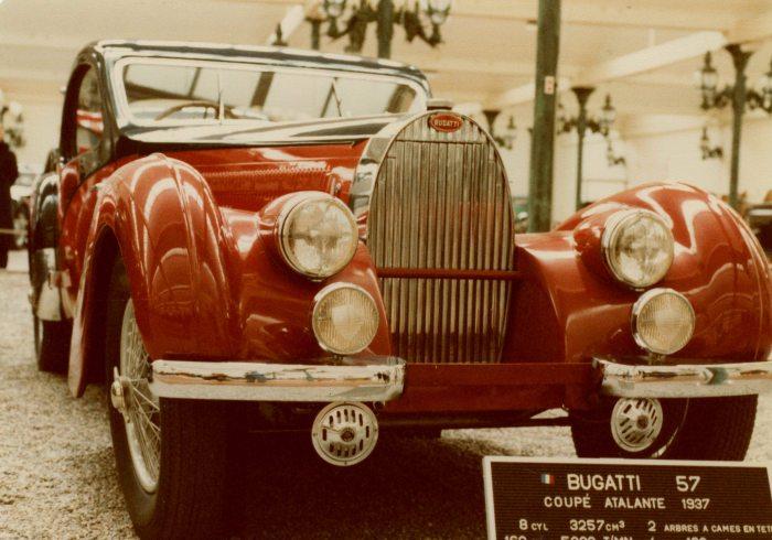 1937 Bugatti 57 Coupe Atalante