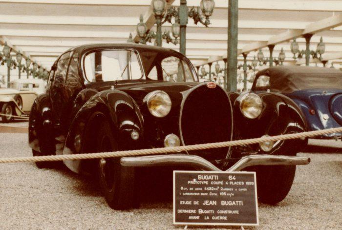 1939 Bugatti Type 64 prototype