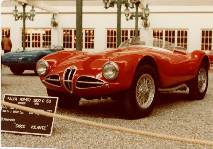 1951 Alfa Romeo Disco Volante