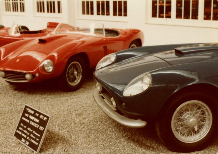 A pair of Ferraris