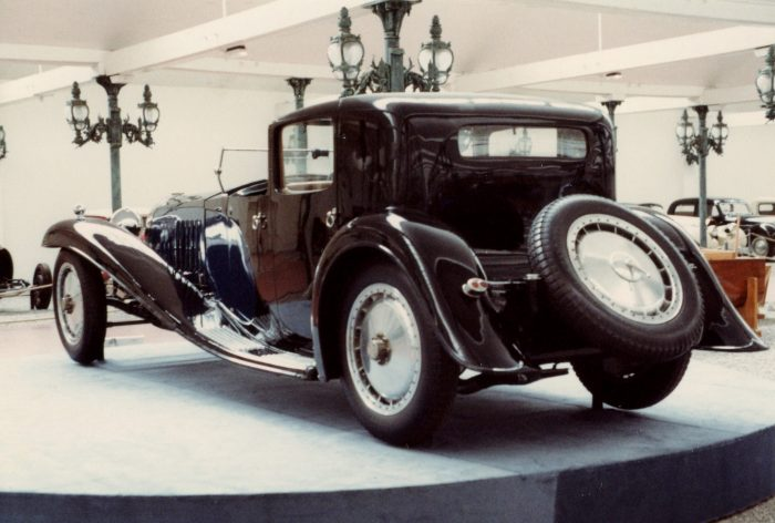 Bugatti Royale Coupe from rear