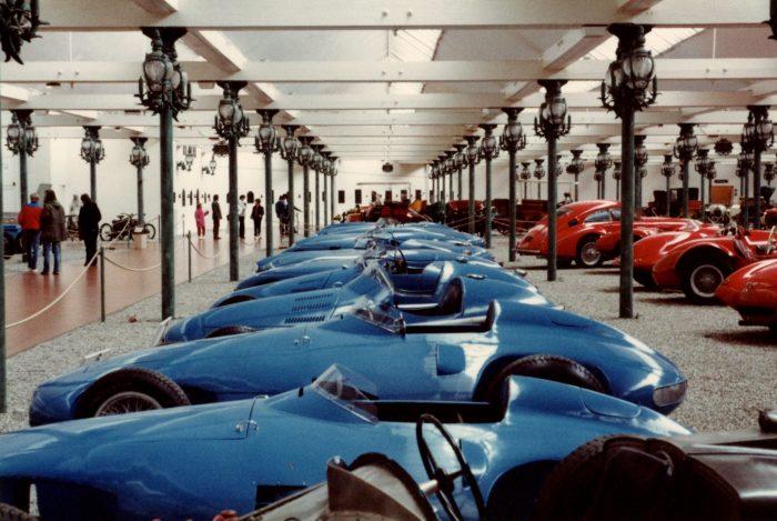 Most of their Bugattis were restored by the Schlumpfs