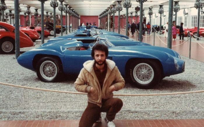 Portrait of the car enthusiast as a young man