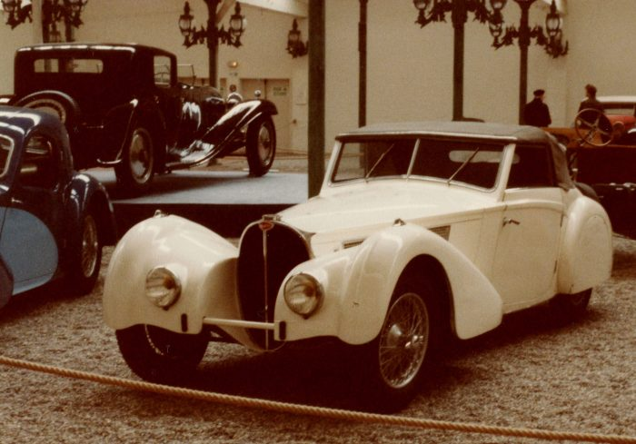 Possibly a Type 57 with alternate coachwork