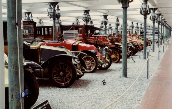 Pre-war cars at the Schlumpf