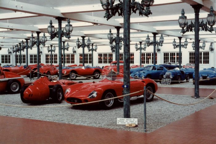 Red cars (mostly of the Italian racing variety) are here too