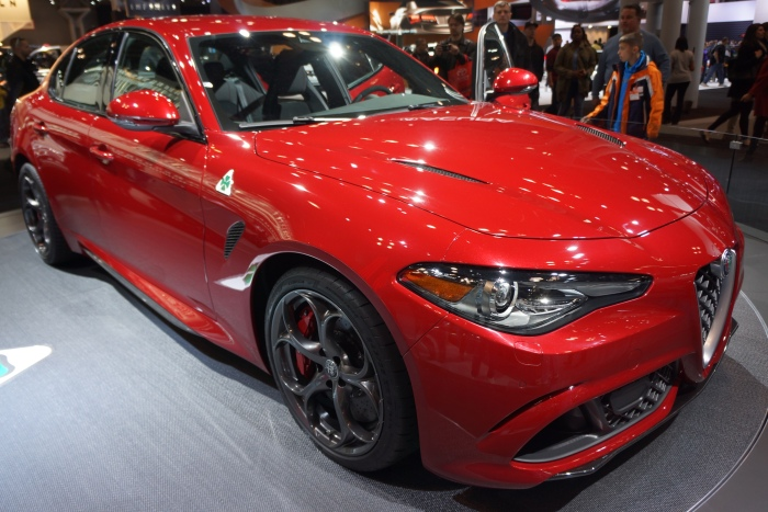The new Alfa Romeo Giulia sedan
