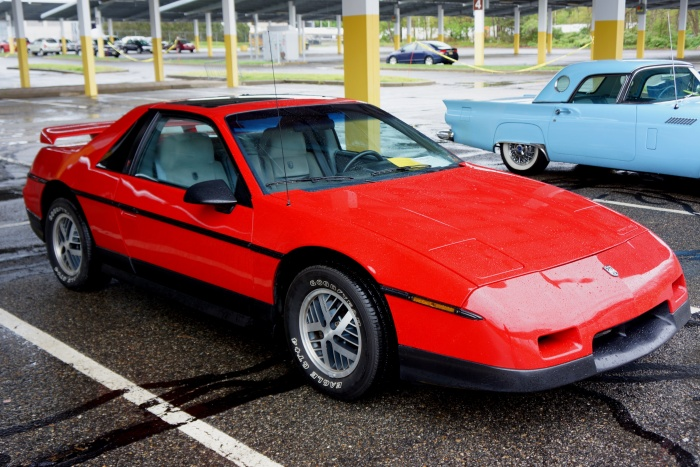 This Fiero was displayed in unrestored condition by its original owner