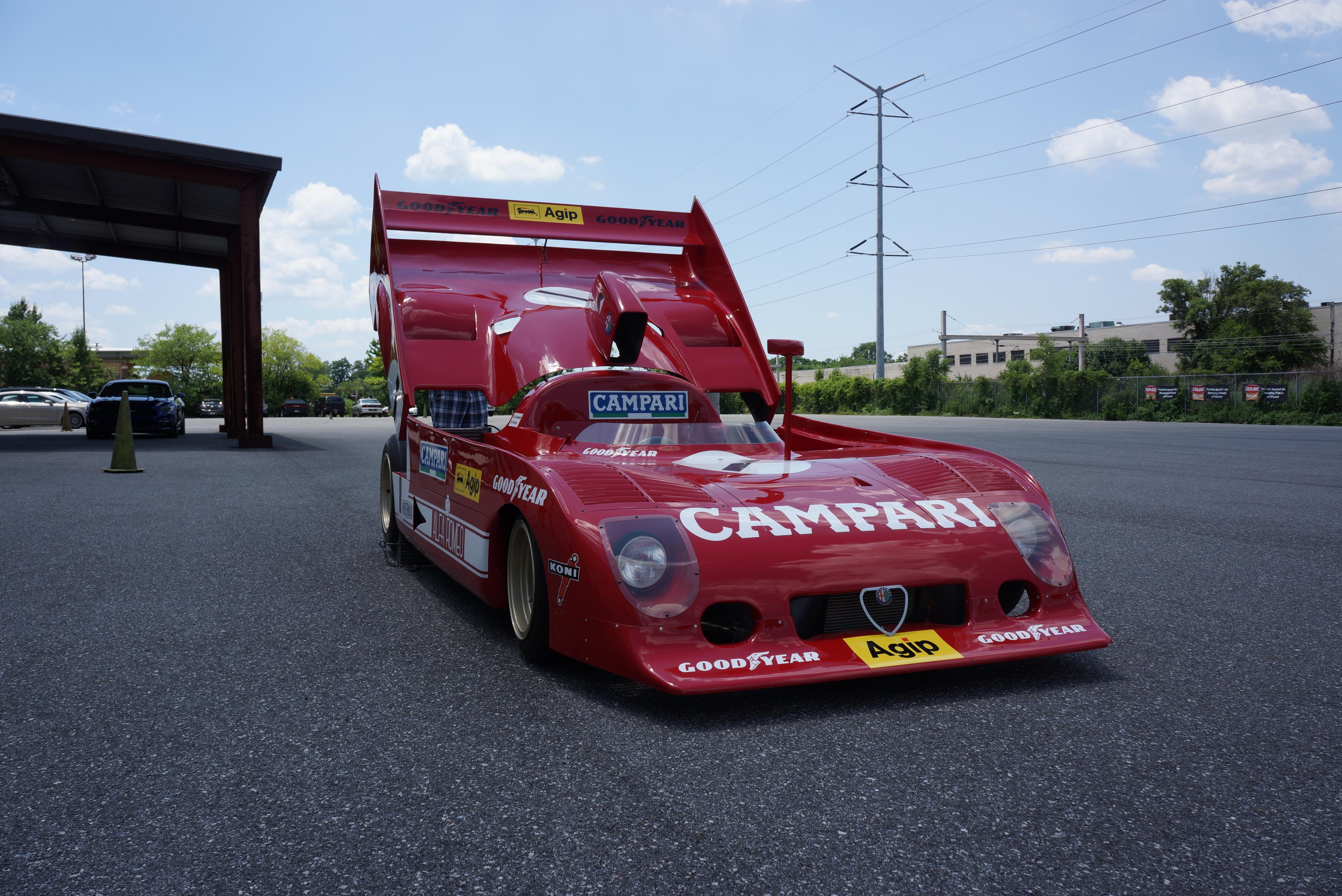The shape screams '70s race car