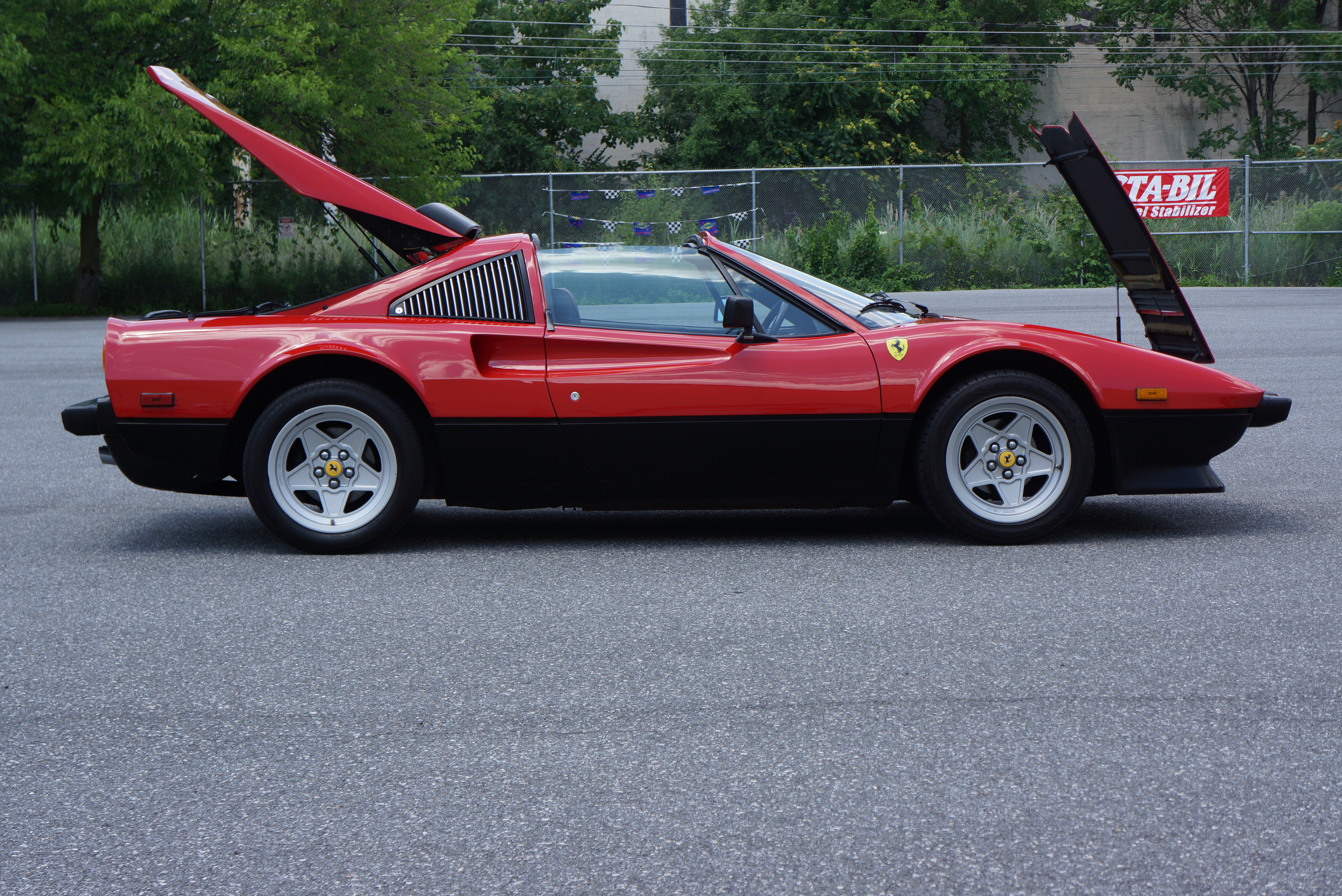While not a V12, 308 is stunning '70s shape