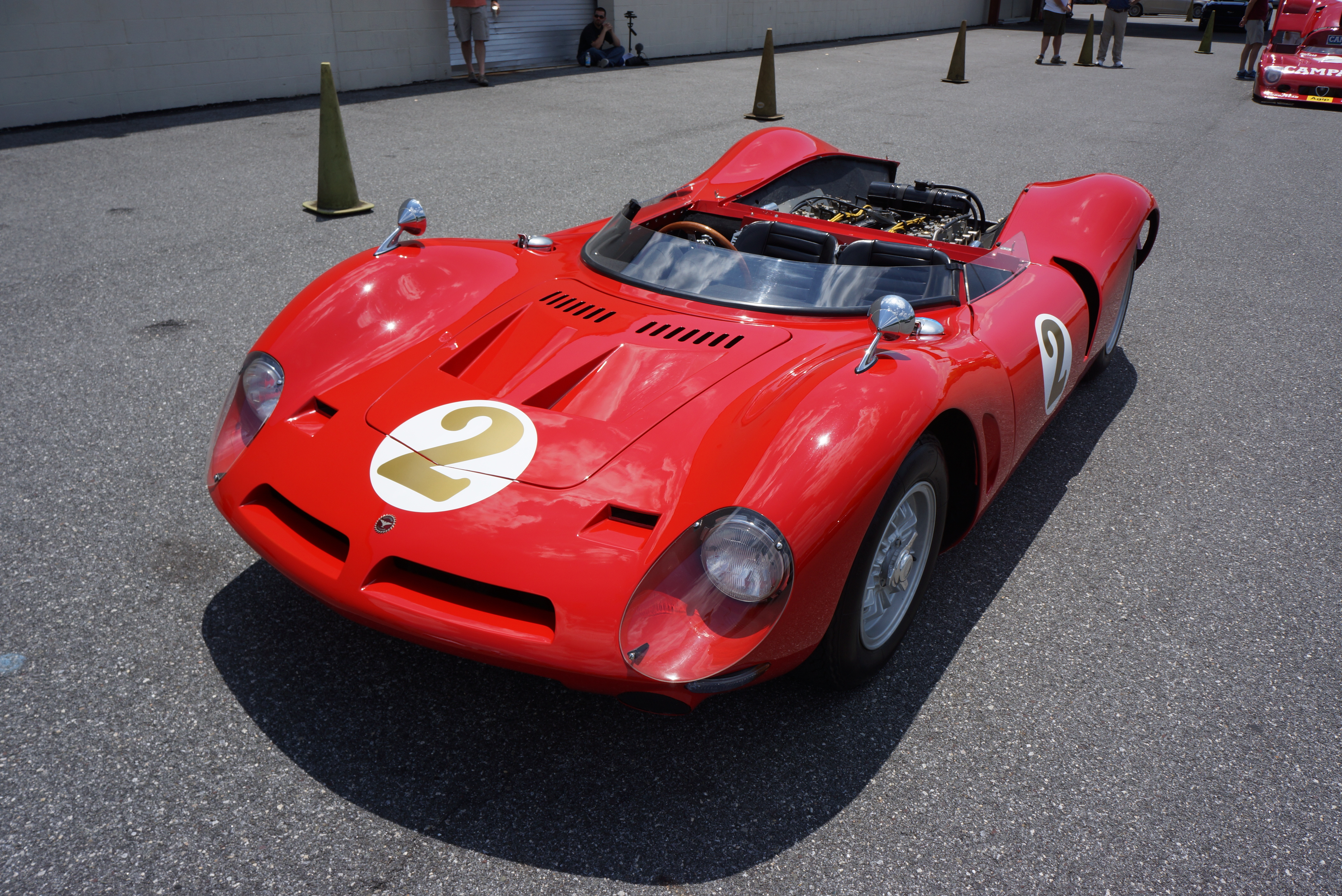 Bizzarrini looks almost two-dimensional from this angle