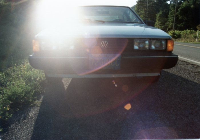 My attempt at an artsy Scirocco shot.