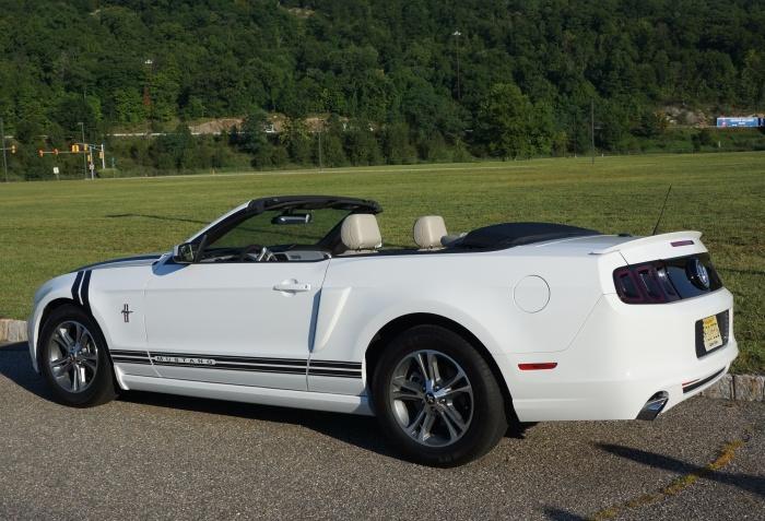 Nick's Mustang convertible