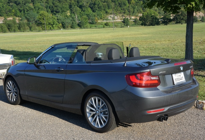 The BMW 2-series of our Maryland guests