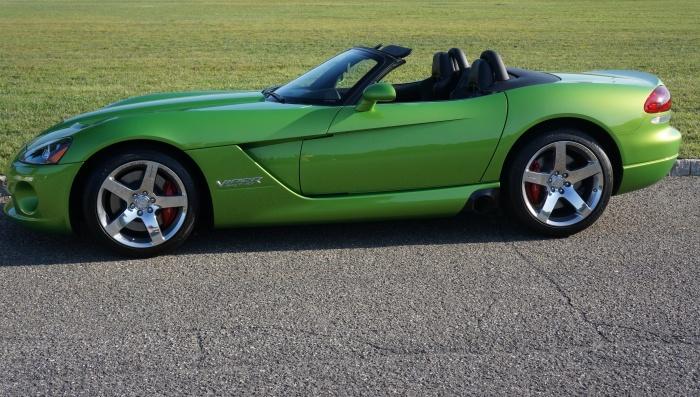 The mean green Viper machine