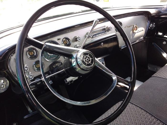 Steering wheel feels 3 feet wide - it just that modern wheels are so much smaller