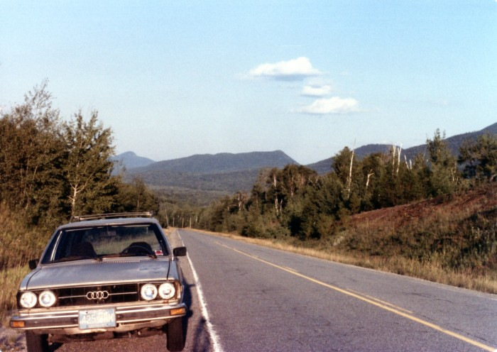 Looking good in Adirondack scenery