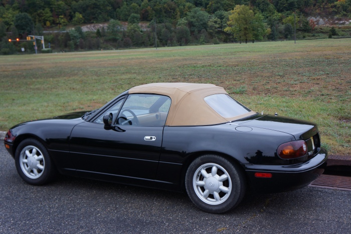 Your author's Miata