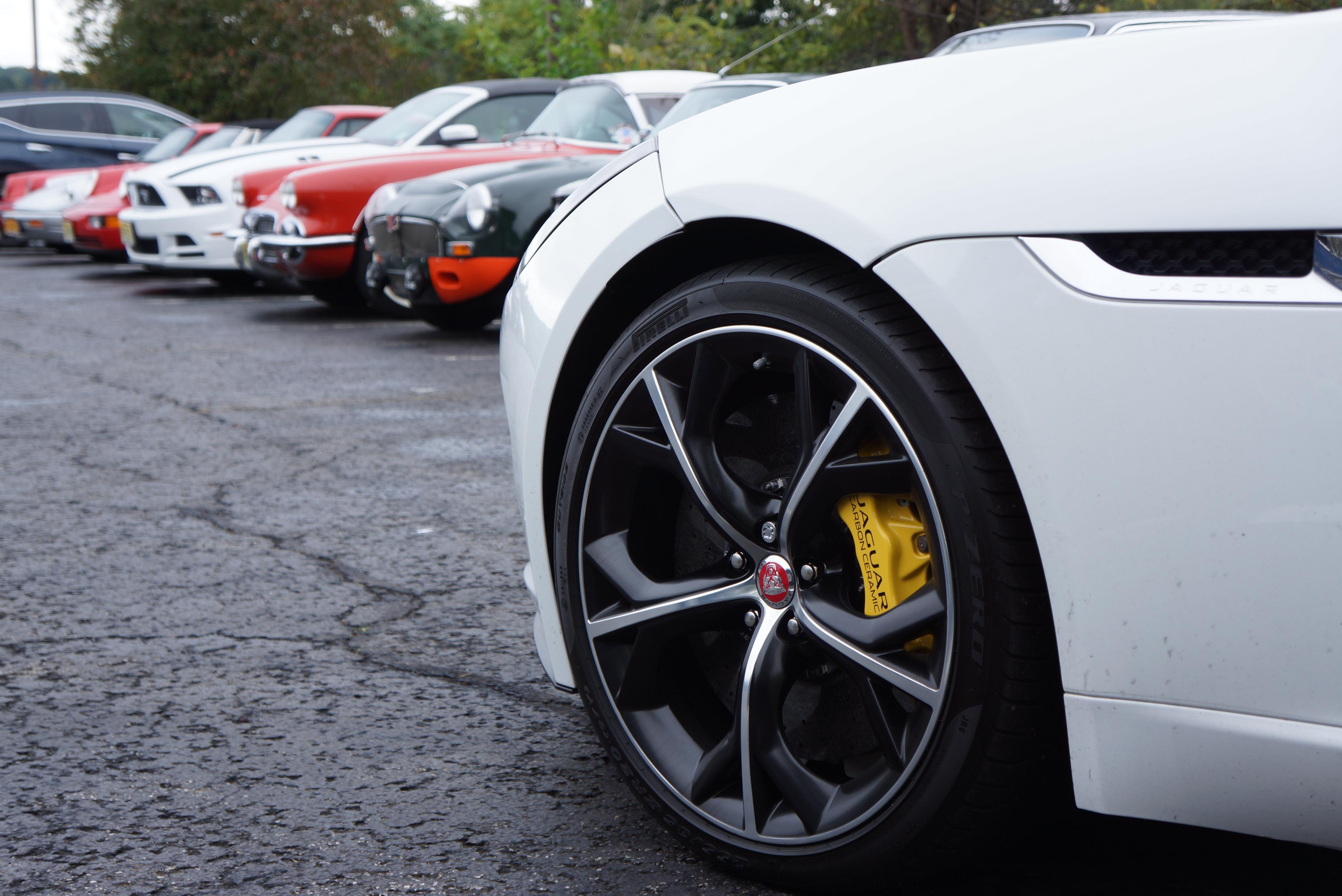As does Richard's Jaguar F-Type