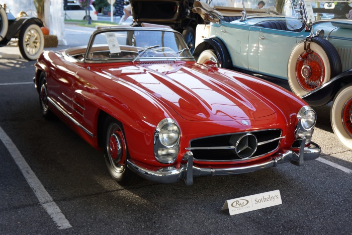 Beautiful Benz 300SL roadster