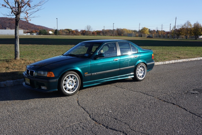 Julio's son's 3-series sedan