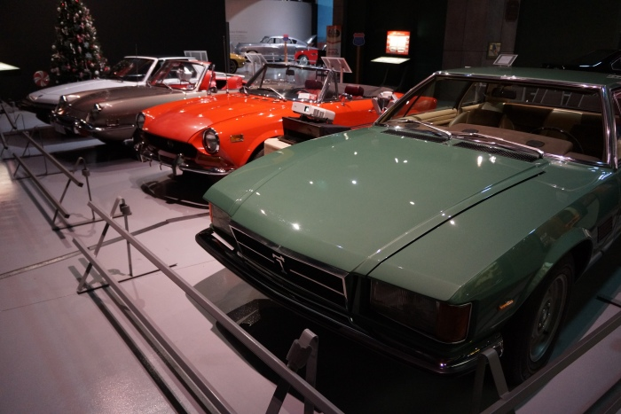 Sneak preview: DeTomaso Longchamp, Fiats 124, 850, and X1/9