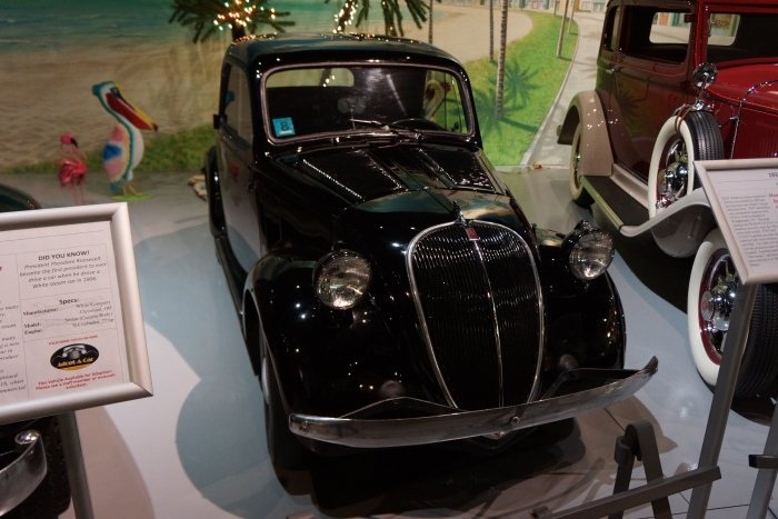 Adorable 1937 Fiat Topolino (owned by AACA Museum)