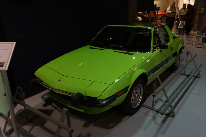 1974 Fiat X1/9 - note lack of battering ram bumpers